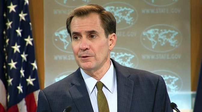 "US Spox John Kirby threatens Russia with ""more body bags, attacks on Russian Cities"""